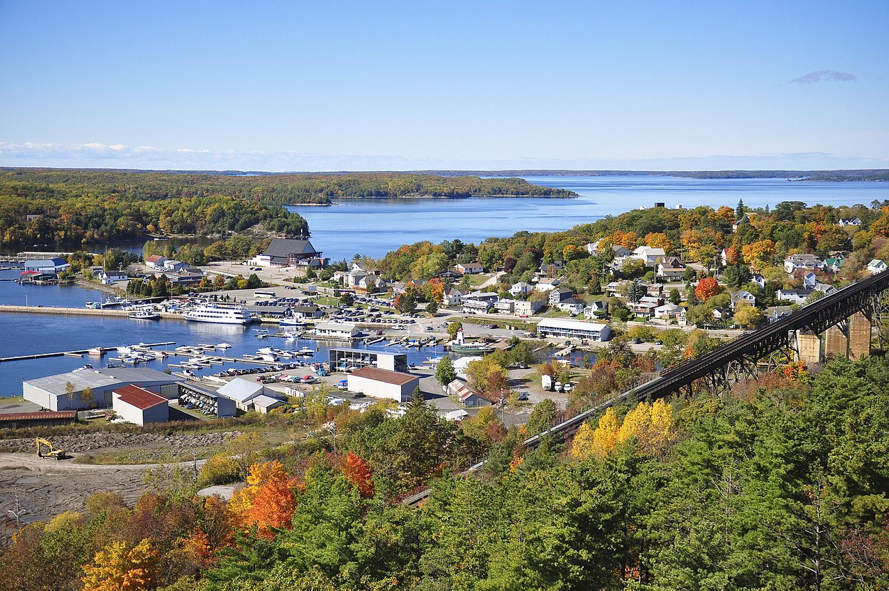Parry Sound Vacant Land for Development Cottages For Sale Waterfront Property Properties House for Sale Real Estate Listings