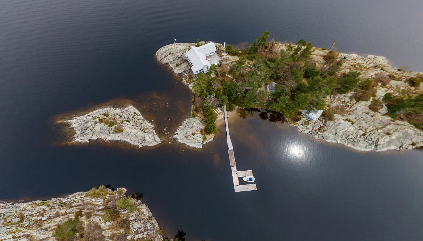 Cottage Island Property for Sale in Cognashene Ontario, Talbot Islands from Moffat Dunlap Real Estate