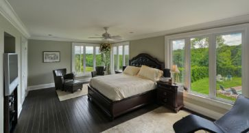 House Master Bedroom - Country homes for sale and luxury real estate including horse farms and property in the Caledon and King City areas near Toronto