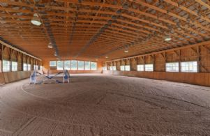 Riding Arena - Country homes for sale and luxury real estate including horse farms and property in the Caledon and King City areas near Toronto