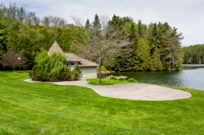 Boat House and Picnic Patio - Country homes for sale and luxury real estate including horse farms and property in the Caledon and King City areas near Toronto