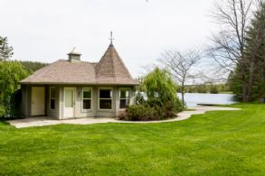 Boat House, South Elevation - Country homes for sale and luxury real estate including horse farms and property in the Caledon and King City areas near Toronto