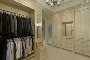 Master Closet - Country homes for sale and luxury real estate including horse farms and property in the Caledon and King City areas near Toronto