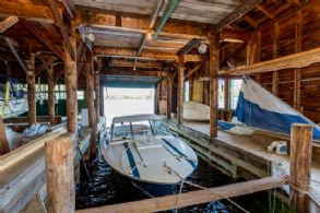 Two Slip Boat House - Country homes for sale and luxury real estate including horse farms and property in the Caledon and King City areas near Toronto