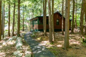 West Guest Cabin - Country homes for sale and luxury real estate including horse farms and property in the Caledon and King City areas near Toronto
