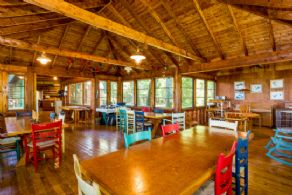 Dining Hall - Country homes for sale and luxury real estate including horse farms and property in the Caledon and King City areas near Toronto