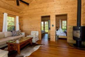 Guest Cabin Interior - Country homes for sale and luxury real estate including horse farms and property in the Caledon and King City areas near Toronto