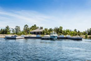 Main Cottage and Harbour - Country homes for sale and luxury real estate including horse farms and property in the Caledon and King City areas near Toronto