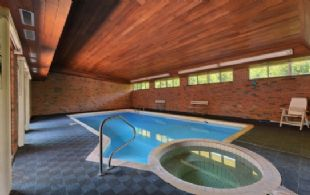 Abundantly Lit Indoor Pool and Spa - Country homes for sale and luxury real estate including horse farms and property in the Caledon and King City areas near Toronto