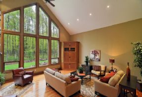 Great Room - Country homes for sale and luxury real estate including horse farms and property in the Caledon and King City areas near Toronto