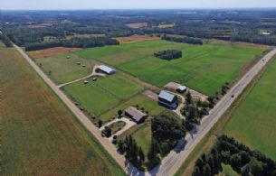 Versatile Farm Holding, East Garafraxa, Ontario, Canada - Country homes for sale and luxury real estate including horse farms and property in the Caledon and King City areas near Toronto