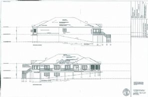 Architectural Drawing - Country homes for sale and luxury real estate including horse farms and property in the Caledon and King City areas near Toronto
