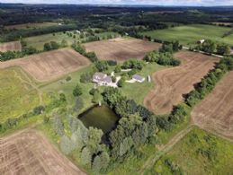 House and Large Detached Workshop - Country homes for sale and luxury real estate including horse farms and property in the Caledon and King City areas near Toronto