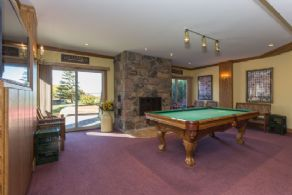 Lower Level Billiards Room with Walk-out - Country homes for sale and luxury real estate including horse farms and property in the Caledon and King City areas near Toronto