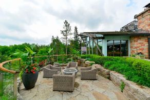 Tree Top Patio - Country homes for sale and luxury real estate including horse farms and property in the Caledon and King City areas near Toronto