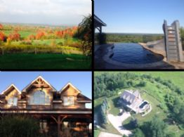 Eastern Views, Mono, Ontario - Country homes for sale and luxury real estate including horse farms and property in the Caledon and King City areas near Toronto
