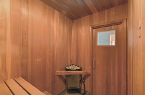 Sauna - Country homes for sale and luxury real estate including horse farms and property in the Caledon and King City areas near Toronto