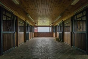 Well Appointed Barn Interior - Country homes for sale and luxury real estate including horse farms and property in the Caledon and King City areas near Toronto