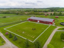 Indoor Arena, Grass Ring & Training Track - Country homes for sale and luxury real estate including horse farms and property in the Caledon and King City areas near Toronto