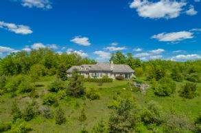 Hill Top setting with Extensive Hiking, Trails, Ponds, Woodlands, Meadows - Country homes for sale and luxury real estate including horse farms and property in the Caledon and King City areas near Toronto