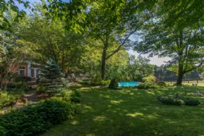 View from Garden - Country homes for sale and luxury real estate including horse farms and property in the Caledon and King City areas near Toronto
