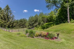Front Garden - Country homes for sale and luxury real estate including horse farms and property in the Caledon and King City areas near Toronto