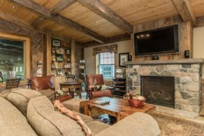 Fieldstone Fireplace - Country homes for sale and luxury real estate including horse farms and property in the Caledon and King City areas near Toronto