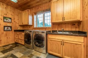 Laundry - Country homes for sale and luxury real estate including horse farms and property in the Caledon and King City areas near Toronto