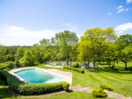 Pool + Tennis Court - Country homes for sale and luxury real estate including horse farms and property in the Caledon and King City areas near Toronto