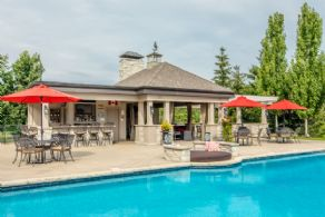 Full Cabana - Country homes for sale and luxury real estate including horse farms and property in the Caledon and King City areas near Toronto