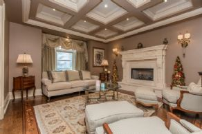 Living Room - Country homes for sale and luxury real estate including horse farms and property in the Caledon and King City areas near Toronto