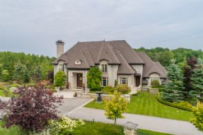 South Facade - Country homes for sale and luxury real estate including horse farms and property in the Caledon and King City areas near Toronto