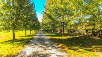 Large Private Drive - Country homes for sale and luxury real estate including horse farms and property in the Caledon and King City areas near Toronto