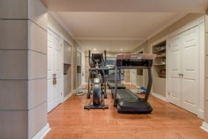 Exercise Room - Country homes for sale and luxury real estate including horse farms and property in the Caledon and King City areas near Toronto