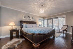 Master Bedroom with Walk-in Closet - Country homes for sale and luxury real estate including horse farms and property in the Caledon and King City areas near Toronto