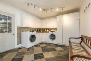 Laundry Mudroom - Country homes for sale and luxury real estate including horse farms and property in the Caledon and King City areas near Toronto