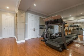 Exercise Area - Country homes for sale and luxury real estate including horse farms and property in the Caledon and King City areas near Toronto