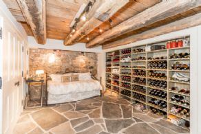 Wine Room - Country homes for sale and luxury real estate including horse farms and property in the Caledon and King City areas near Toronto