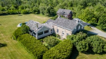Stone Home - Country homes for sale and luxury real estate including horse farms and property in the Caledon and King City areas near Toronto