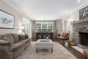 Combined Dining and Family Room - Country homes for sale and luxury real estate including horse farms and property in the Caledon and King City areas near Toronto