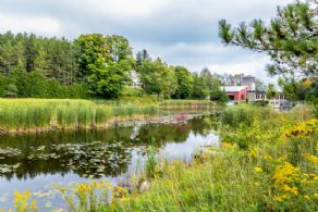 Mill Pond Stone Cottage, Alton, Caledon, Ontario - Country homes for sale and luxury real estate including horse farms and property in the Caledon and King City areas near Toronto