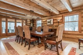 Dining Room - Country homes for sale and luxury real estate including horse farms and property in the Caledon and King City areas near Toronto