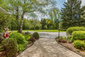 Front Walkway to Circular Drive - Country homes for sale and luxury real estate including horse farms and property in the Caledon and King City areas near Toronto