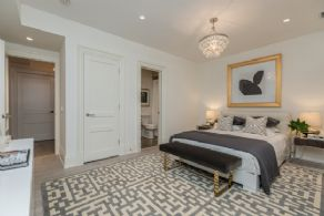Bedroom 4 with En Suite Bath - Country homes for sale and luxury real estate including horse farms and property in the Caledon and King City areas near Toronto