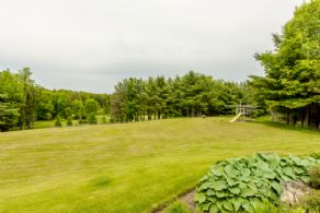 Front Yard - Country homes for sale and luxury real estate including horse farms and property in the Caledon and King City areas near Toronto