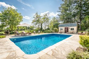 Heated Salt Water Pool - Country homes for sale and luxury real estate including horse farms and property in the Caledon and King City areas near Toronto
