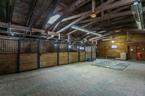 Interior of Training Barn - Country homes for sale and luxury real estate including horse farms and property in the Caledon and King City areas near Toronto