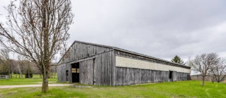 Indoor Riding Arena/Storage Building - Country homes for sale and luxury real estate including horse farms and property in the Caledon and King City areas near Toronto
