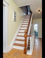 Stairs to 3rd Floor Loft - Country homes for sale and luxury real estate including horse farms and property in the Caledon and King City areas near Toronto