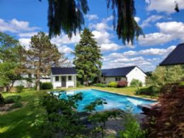 Views toward Guest House - Country homes for sale and luxury real estate including horse farms and property in the Caledon and King City areas near Toronto